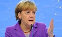 "Merkel : ""Si l'euro échoue, l'Europe échoue"""