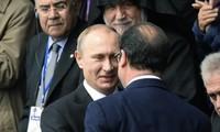 """Ukraine: Hollande, Merkel, Poutine et Porochenko pour une """"mise en oeuvre complète du cessez-le-feu"""""""
