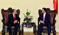 Le gouvernement général birman reçu par Nguyen Tan Dung