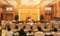 Le comité permanent de l'Assemblée nationale examine d'importants projets de loi