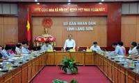 Vu Van Ninh inspecte l'instauration de la nouvelle ruralité à Lang Son