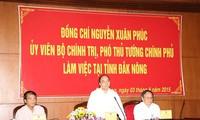Dak Nong doit mobiliser toutes les ressources pour le développement socio- économique