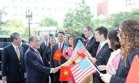 Suite des activités de Nguyen Sinh Hung à Boston