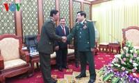 Intensifier la coopération entre les armées vietnamienne et cambodgienne