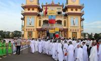 Le 90e anniversaire de la propagation du caodaïsme célébré à Hanoi