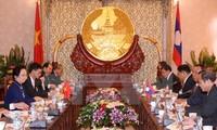Nguyen Thi Doan entame une visite au Laos