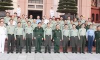 Une délégation de l'Université de la défense nationale de Chine reçue par Phung Quang Thanh