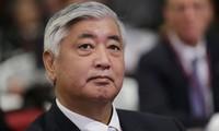 Le ministre japonais de la défense au Vietnam en Novembre