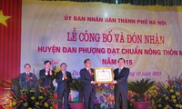 Dan Phuong : district néo-rural