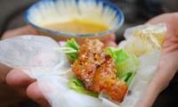 Les rouleaux de printemps au porc grillé de Hoi An