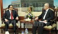 Une délégation du PCV en visite au Moyen-Orient