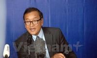 Cambodge: Sam Rainsy à nouveau convoqué par le tribunal de Phnom Penh