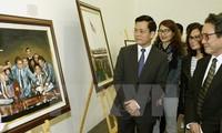 Vernissage de l'exposition « Le Vietnam dans mes yeux »