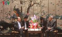 Le président de l'AN Nguyên Sinh Hùng en visite dans le Guangdong
