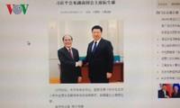 La presse chinoise salue la visite du président de l'AN Nguyên Sinh Hùng