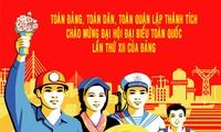 Remise des prix du concours d'affiches sur le 12ème congrès national du PCV