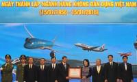 L'aviation civile vietnamienne souffle ses 60 bougies