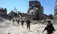 Syrie : les opposants vont remettre une partie de leurs armes lourdes