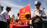 Hommages aux morts pour la patrie sur le plateau continental du Sud du Vietnam