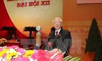 Félicitations au dirigeant du Parti communiste vietnamien