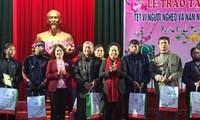 La vice-présidente Nguyen Thi Doan présente ses voeux de Nouvel An