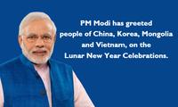 Voeux de nouvel an du Premier ministre indien