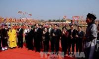 Nguyen Thi Doan participe à la fête Tich Dien