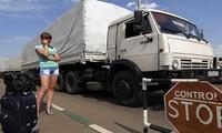 L'Ukraine interdit les camions russes sur son territoire