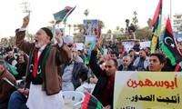 Des Libyens célèbrent les cinq ans de la révolution
