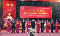 La fête de la presse printanière 2016 à Lang Son et Vinh Phuc