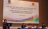 Dialogue de politiques d'égalité des sexes