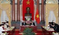 Renforcer la coordination entre le chef de l'Etat et le Front de la patrie