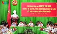 Nguyen Tan Dung: il faut minimiser les conséquences de la sécheresse