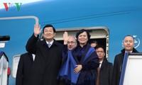 Le président Truong Tân Sang se rendra en Tanzanie, au Mozambique et en Iran