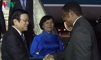 Truong Tan Sang en visite d'Etat en Tanzanie