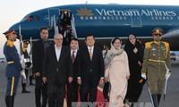Le président Truong Tan Sang entame sa visite d'état en Iran