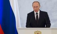 Vladimir Poutine annonce le début du retrait des troupes russes de Syrie