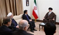 Entrevue Truong Tan Sang - Ali Khamenei