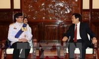Truong Tân Sang reçoit les ambassadeurs thailandais, indonésien, philippin et malaisien