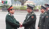 Le ministre chinois de la défense en visite d'amitié au Vietnam