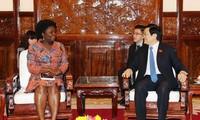 La directrice de la BM au Vietnam reçue par des dirigeants vietnamiens