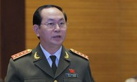 Le ministre de la Sécurité publique, candidat au poste de président de la République