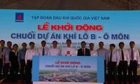Lancement d'un grand projet gazier dans la province de Kien Giang