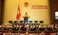 L'Assemblée nationale avalise la composition du nouveau gouvernement