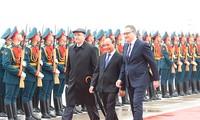 Le Premier ministre Nguyen Xuan Phuc est arrivé à Moscou