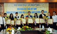 4 projets vietnamiens primés du concours Intel ISEF 2016