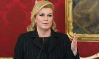La présidente croate appelle à la dissolution du Parlement