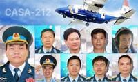 Funérailles de l'équipage de l'avion CASA-212