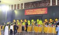 Funérailles officielles des 9 membres d'équipage du CASA-212