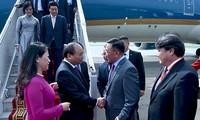 Le Premier ministre vietnamien est arrivé à Oulan-Bator